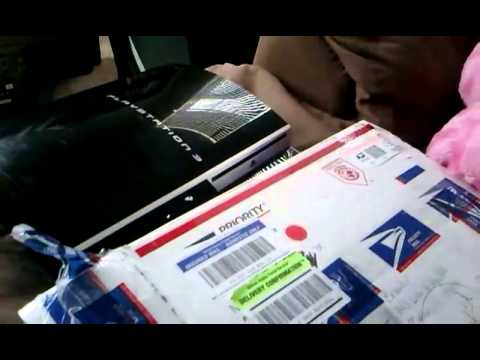 3.55 ps3 unboxing!!!! :)