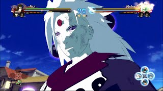 Naruto Ultimate Ninja Storm 4 - Six Paths Madara Moveset Awakening & Ultimate Jutsu FULL 60FPS
