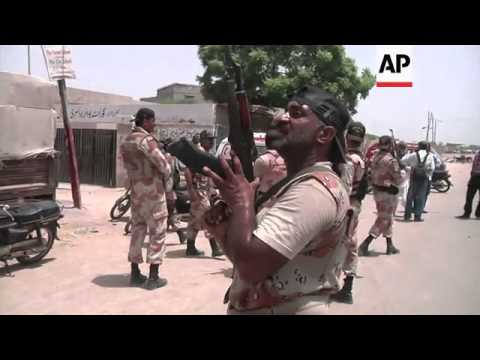 For the second time this week, gunmen attacked the airport in Karachi, Pakistan. Tuesday's attack ta