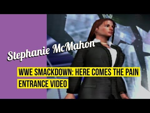 Stephanie McMahon (Attire 2) - WWE Smackdown: Here Comes The Pain Entrance thumbnail