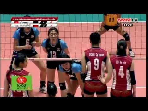 [Full Match] South Korea - Hong Kong [Asian Jr. Women's 16th] 2-10-2012