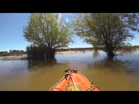 Pesca y travesia en Kayak en Colon, Entre Ríos, octubre 2013