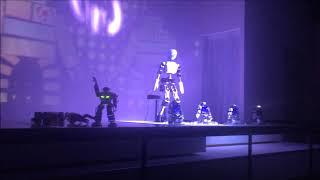 애니메이션 박물관 로봇댄스