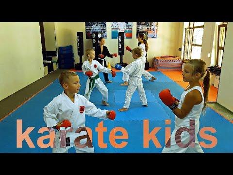 Дети в Каратэ /Karate kids/Martial arts. KARATE CLUB SKIF