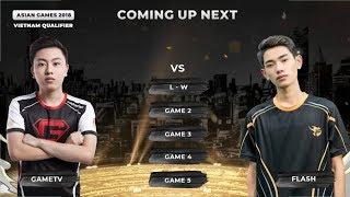 [HIGHLIGHT VÒNG LOẠI ASIAN GAMES 2018] GTV VS FL