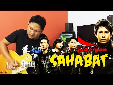 Tutorial Gitar Melodi Peterpan - Sahabat By Sobat P [Slow Motion & Detail]