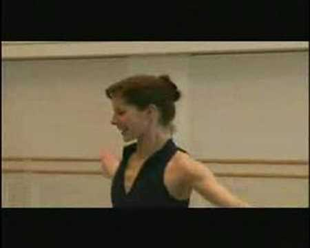 Rehearsal with Darcey Bussell & Jonathan Cope