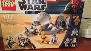 Lego Star Wars 9490 Droid Escape Review