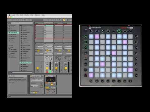 Novation // Launchpad Pro - Interfacing with Ableton Live