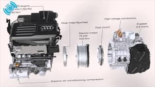 Audi A3 e-tron Drive System