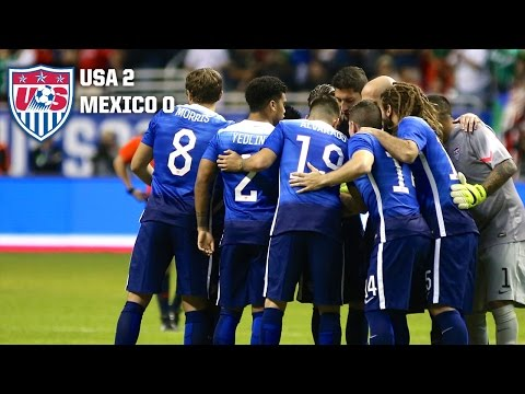 MNT vs. Mexico: Highlights - April 15, 2015