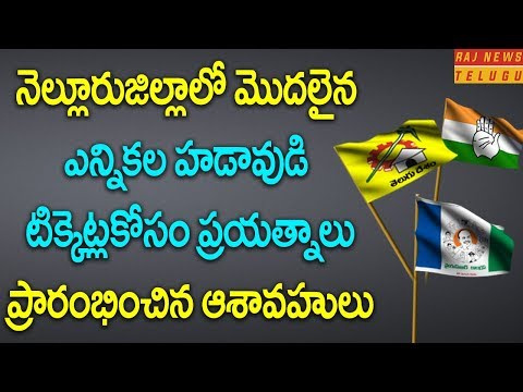 Many Aspirants from TDP, YSRCP in Nellore District | Raj News