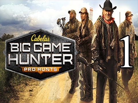 Cabela's Big Game Hunter Pro Hunts - Gameplay Walkthrough - Part 1 - This Again?