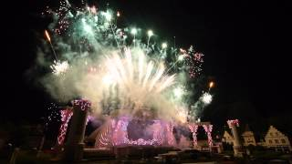 Seoul, fireworks in Everland) Music in the mood))) 1080pHD!