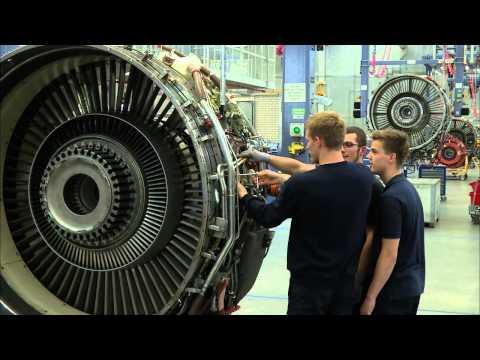 Die Technik Azubis: Fluggerätmechaniker/-in Triebwerkstechnik