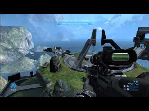 Halo Reach 1v1 Burgerweiner 7 vs. IIcon Pro 1 on Pinnacle (Ascension)