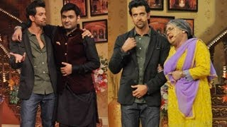 Hrithik Roshan Promotes Krrish 3 On Comedy Nights With Kapil