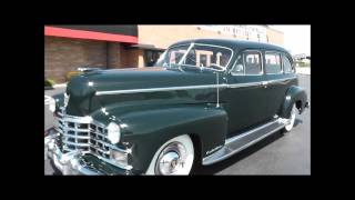 1947 Cadillac Series 75 Fleetwood 7 Passenger Sedan