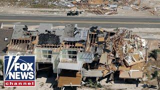 Hurricane Michael leaves Mexico Beach, Florida in ruins