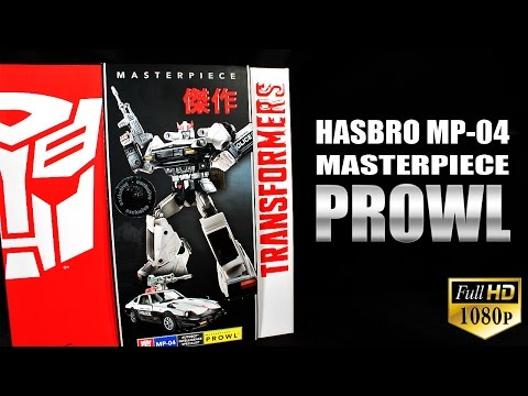 Hasbro MP-04 Masterpiece Prowl Transformers review
