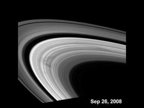 Cassini Views Spokes in Saturn's Rings [720p]