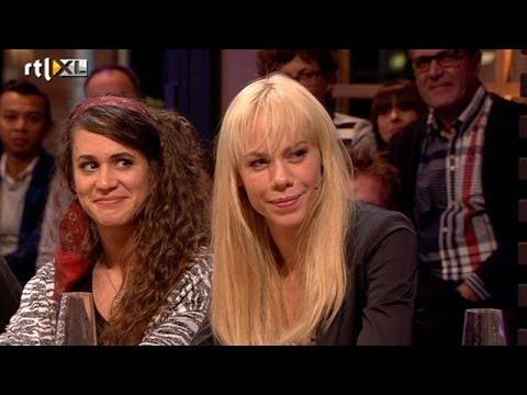 Ook Nicolette Kluijver met de billen bloot - RTL LATE NIGHT