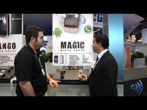 Blu Magic World Phone Review at CTIA 2011