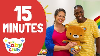 Songs compilation | 15 minutes of nursery rhymes | The Baby Club