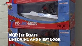 NDQ Jet boats Tear into Toy grade RC - Unboxing and First look
