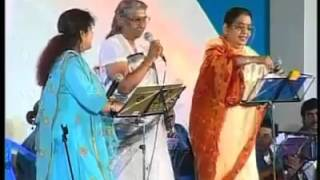 S.janaki singing male voice