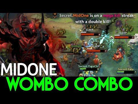 MIDONE DOTA 2 [Shadow Fiend] WOMBO COMBO! Bye Miracle-