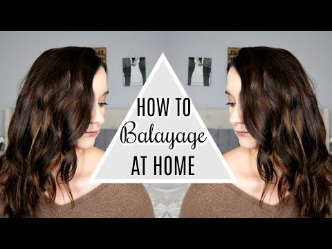 How To: Easy + Affordable At Home Hair Balayage Tutorial