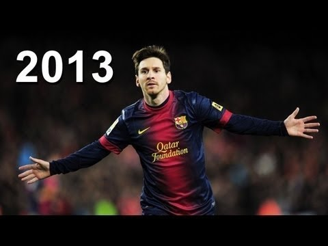 Lionel Messi ● All 67 Goals In 2012 2013 ● With Commentary video