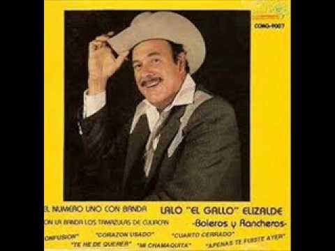 Lalo El Gallo Elizalde- Dos Camionetas Blindadas- Disco Completo