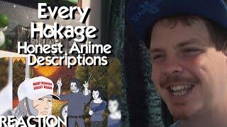 Every Hokage in Naruto / Boruto - Honest Anime Descriptions REACTION