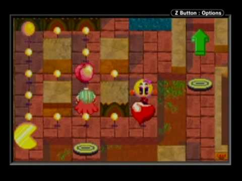 Pac Man Playstation >> Ms. PacMan Maze Madness (GBA) - Cleopactra (23,570) (9/29/08) - YouTube