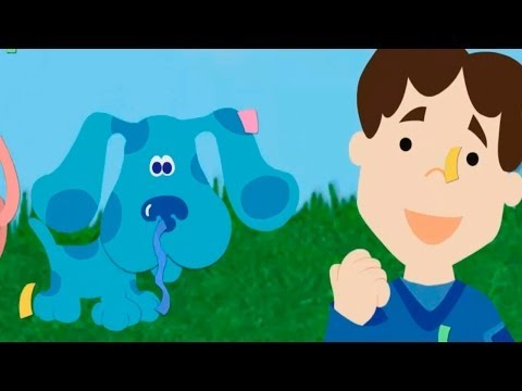 BLUE'S CLUES - Blue's Matching Game - New Blue's Clues Episode TV Game