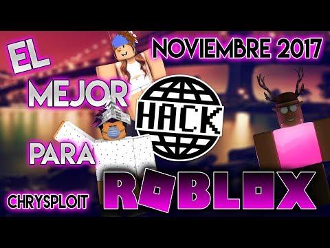 EL MEJOR HACK para ROBLOX NOVIEMBRE 2017!!! Tutorial