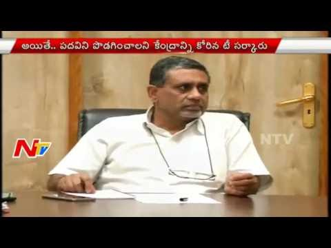 Centre Extended Telangana CS Rajeev Sharma Service for 3 Months | NTV