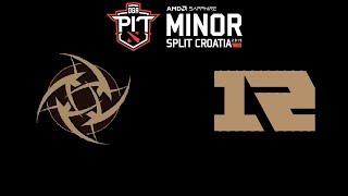 NiP vs Royal Never Give Up DOTA PIT Minor 2019 Highlights Dota 2