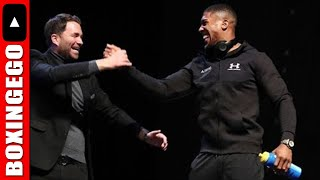 """""""Deontay Wilder DOES NOT WANT Anthony Joshua fight"""" Eddie Hearn Believes....EGOVELI - LIVE CHAT"""