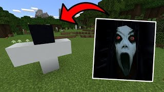 How To Spawn SLENDRINA in Minecraft PE | MCPE Journalist