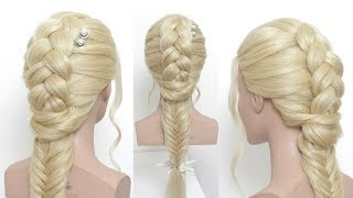 New Simple Everyday Hairstyle For Girls.