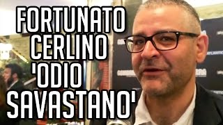"Fortunato Cerlino: ""Amo il personaggio che interpreto, ma odio Pietro Savastano"". TvZoom.it"