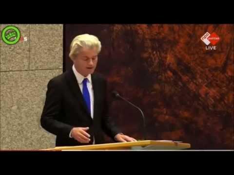 Geert Wilders (PVV) VS.  Struisvogels!
