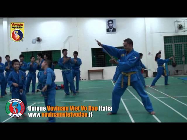 Vovinam training in Vietnam - CLB Le Hong Phong, Q5, Ho Chi Minh City