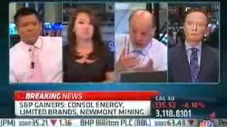 CNBC's Jim Cramer flips out when a guest accuses him of creating panic in the market