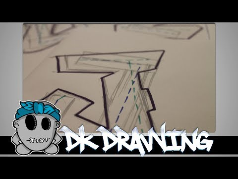 easy graffiti for beginners draw a spraycan how to save money and. Black Bedroom Furniture Sets. Home Design Ideas