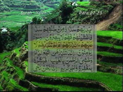 Surah Yaseen With Urdu Translation Part 1 5 video
