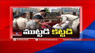 Opposition Party Leaders Arrested | Chalo Assembly for AP Special Status  | hmtv News